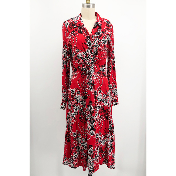 ff5a5eb813c7 Free People Dresses | Tough Love Shirt Dress Bandana Print | Poshmark